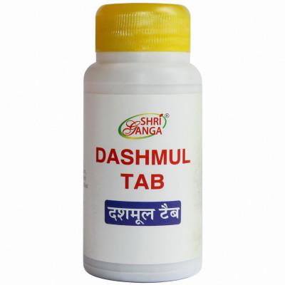 Дашмул Таб - очищение, омоложение (Dashmul Tab Shri Ganga), 100 табл.