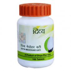 Медохар Вати снижает вес, устраняет желание есть пищу  Divya Medohar Vati   100 таб.