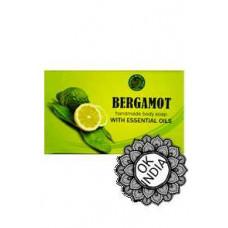 Натуральное травяное мыло «Бергамот»BERGAMOT, 125 гр