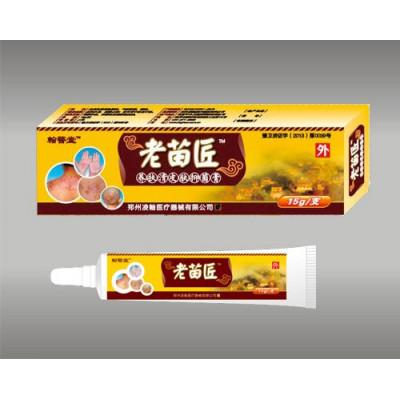 Мазь от псориаза и кожных болезней, Китай, 15 гр