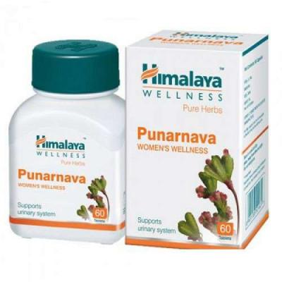 Пунарнава Хималая (Punarnava Himalaya)-многосторонний контроль инфекций 60 таб.
