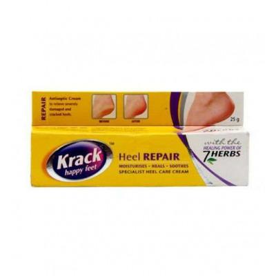 Крем от трещин (Krack happy feet 7 HERBS) — при грубых и потрескавшихся пятках,руках, трещин и обморожений. 25 гр