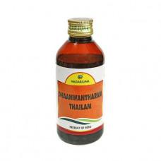 Дханвантарам Таил, массажное масло, Dhanvantharam Thailam, 200мл