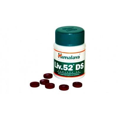ЛИВ 52 ДС -для здоровья печени (Liv.52 DS Himalaya), 60 таб.