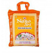 NANO SRI Индийский Басмати Рис Голден селла 5 кг. / Indian Basmati Rice Golden Sella 5 kg.
