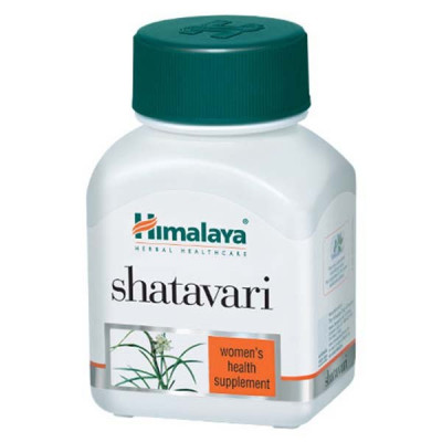 Шатавари Хималая-нормализует работу всех процессов в женском организме, 60 капсул Himalaya Shatavari