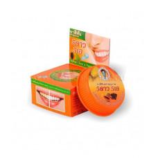 Травяная тайская отбеливающая зубная паста 5star «Папайя»