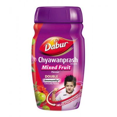 Чаванпраш Фруктовый микс — Chyawanprash Awaleha Mixed Fruits Dabur 500 г.