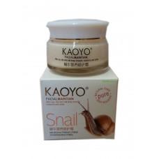 Увлажняющий крем KAOYO, с экстрактом улитки