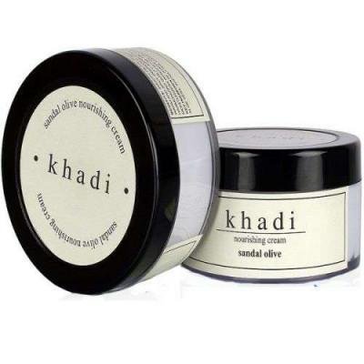 Сандал и Олива- сужает поры, регулируя липидно-водный баланс,повышает эластичность кожи | Sandal and olive Khadi 50г