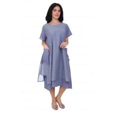 Двухслойное платье из хлопка Gang 19