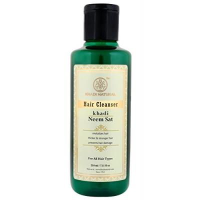 Кхади Травяной Шампунь Ним Сат (Khadi Herbal Shampoo Neem Sat)