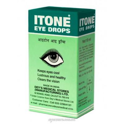 «Айтон» капли для глаз антисептические (Itone Eye Drops), 10мл.
