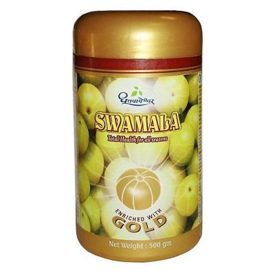 Чаванпраш Голд Свамала - с золотом 500 гр,  (Gold Swamala)