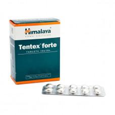 Тентекс форте-при импотенции, плохой эрекции, низком либидо, для усиления половой активности, 100 таб. (Tentex forte)