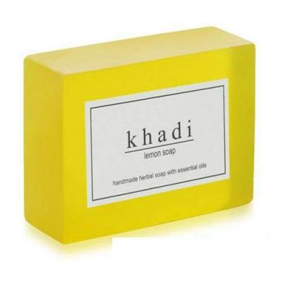 Натуральное мыло Лимон, 125 г Кхади