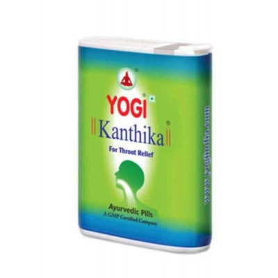 Гранулы от боли в горле и простуды Yogi Kanthika (Йоги Кантика), 140 гранул
