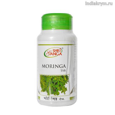 Моринга — Снижение Сахара в крови (Moringa SHRI GANGA), 60 таб.