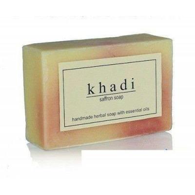 Натуральное мыло Шафран, 125 г Кхади