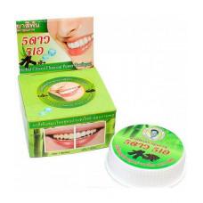 Травяная тайская отбеливающая зубная паста 5star «С углём»