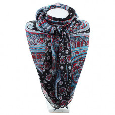 Платок индийский шелк с рисунком