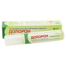 Долорон. Мазь в тубе,(DOLORON) — обезболивающий, антисептический и противовоспалительныйпрепарат 10 гр.
