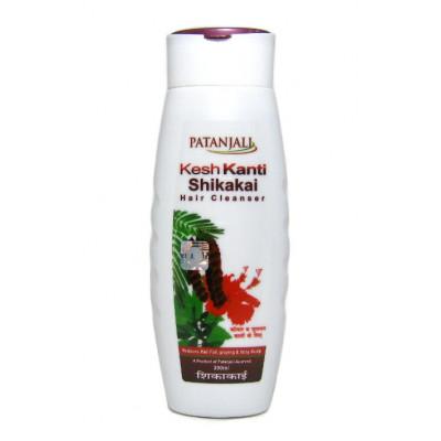 Кеш Канти Шикаки шампунь- обладает глубоким кондиционирующим эффектом и бережно очищает волосы, делая их эластичными, послушными. (Kesh Kanti Shikakai Shampoo )