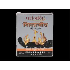 Шиладжит Патанджали- повышения либидо, увеличения работоспособности мозга, укрепления костей, (Shilajit Patanjali) 20 Таблетки.