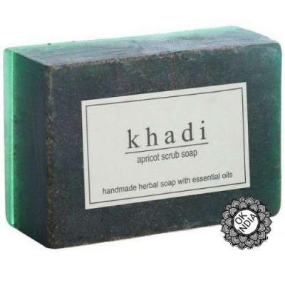Мыло-скраб «Абрикос», 125 г Кхади