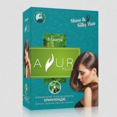 Порошок для волос Брингарадж- Избавляет от секущихся кончиков и седины, Восстанавливает натуральный оттенок. 100 г (Ayur Plus)