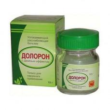 Долорон. Мазь в тубе, (DOLORON)- обезболивающий, антисептический и противовоспалительныйпрепарат 10 гр.
