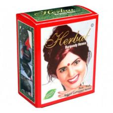 Хна для волос Бургунди Herbal Henna 6 пакетиков по 10 гр.