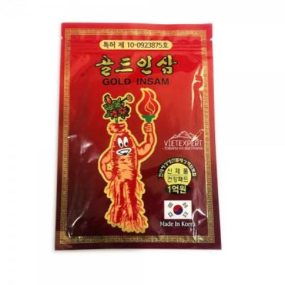 Корейский пластырь Gold Insam ( 20 шт) — долой боль и страдания