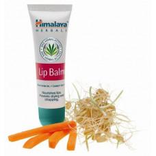 Бальзам для губ от Himalaya Lip Balm- с витамином Е, питает, тонизирует, смягчает кожу губ.