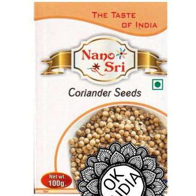 Кориандра целый 100 гр. / Coriander Seeds 100g.