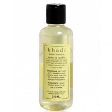 Травяной шампунь Khadi с медом и ванилью - для истощенных, слабых и безжизненных волос. (Herbal shampoo Khadi with honey and vanilla)210мл