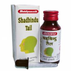 ШАДБИНДУ ТАЙЛ - лечение ринита и синусита, вызванных простудой или аллергией, (Shadbindu Tail) Baidyanath,
