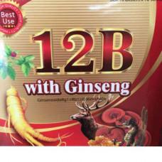 Витаминный комплекс Vitamin 12B with Gingseng (Вьетнам)
