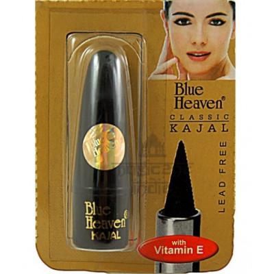 Каджал - карандаш для глаз черный — улучшают рост ресничек, оказывает противовоспалительное действие Blue Heaven (2 г)