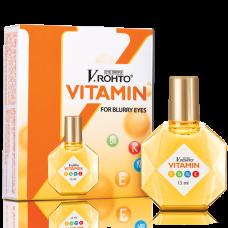 Капли для глаз с витаминами V.Rohto VITAMIN, Вьетнам, 13 мл