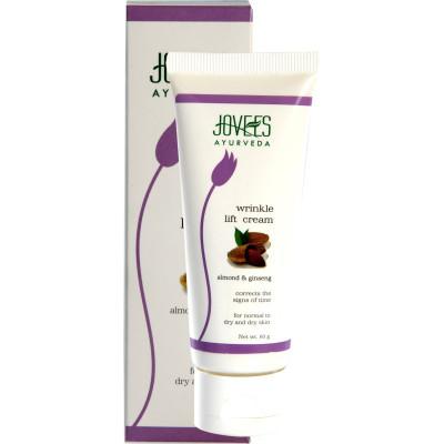 Крем против Морщин (Jovees Ayurveda Wrinkle Lift Cream — Almond & Ginseng) 60 gm.