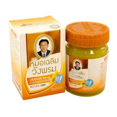 Оранжевый тайский бальзам - от суставных болей и воспалений (Thao En On Balm Orange Balm), 50 грамм