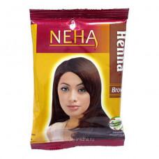 NEHA Henna Brown Хна натуральная Коричневая 20 гр.