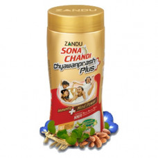 Чаванпраш Sona Chandi, Иммунитет + улучшение памяти, 450г (Zandu)