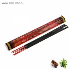 Сандал-Корица HEM Hexa SANDAL-CINNAMON, 20 гр.