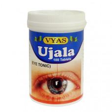 Тоник для глаз «Уджала» (Ujala Vyas) -  укрепления глаз и улучшения зрения,100 таблеток
