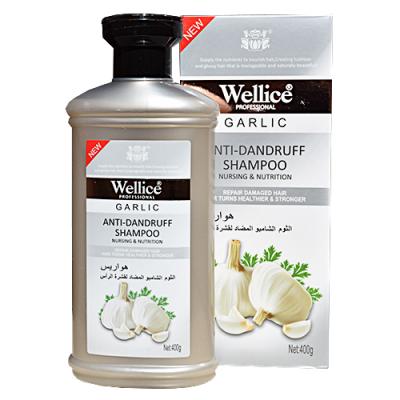 Шампунь для волос Wellice Чеснок, для ослабленных, 400 мл