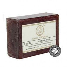 Натуральное мыло «Миндаль», 125 г Кхади (Мумбаи)