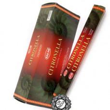 Благовония индийские HEM Citronella Цитронелла