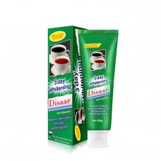 Зубная паста Disaar - пятновыводитель, отбеливающая